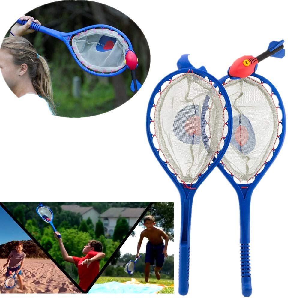 Gbell Outdoor Sports Tennis Catching Ball Game - Throw and Catch Reaction Training Garden,Park and Sports Fields Outdoor Toy Game for Family Adults Kids Boys Girls Ages 8+