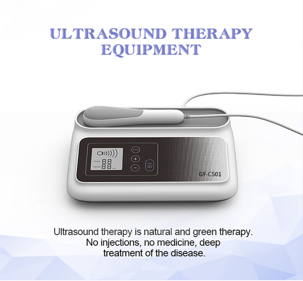 2019 New arrived shockwave ultrasound therapy device for body pain relief