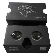3D VR Box 2.0 Virtual Reality Glasses V2 Google Cardboard for Size 4''-5.8''