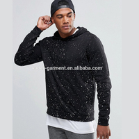 allover paint splash printing hoodies for men custom logo hoodie sweatshirt