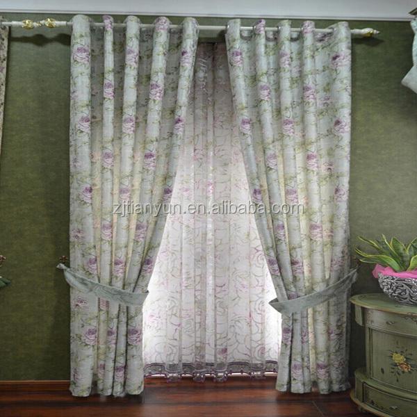 2015 Curtain Classical Charm Design Custom Beaded Valance Curtain ...