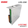 WODE Ce And Rohs 50/60Hz 35W 7A Dc Cctv Switching Power Supply LRS-35-5