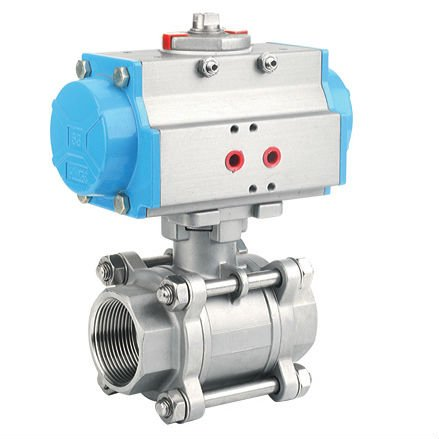 Stainless Steel Actuator Valve,Bspt End