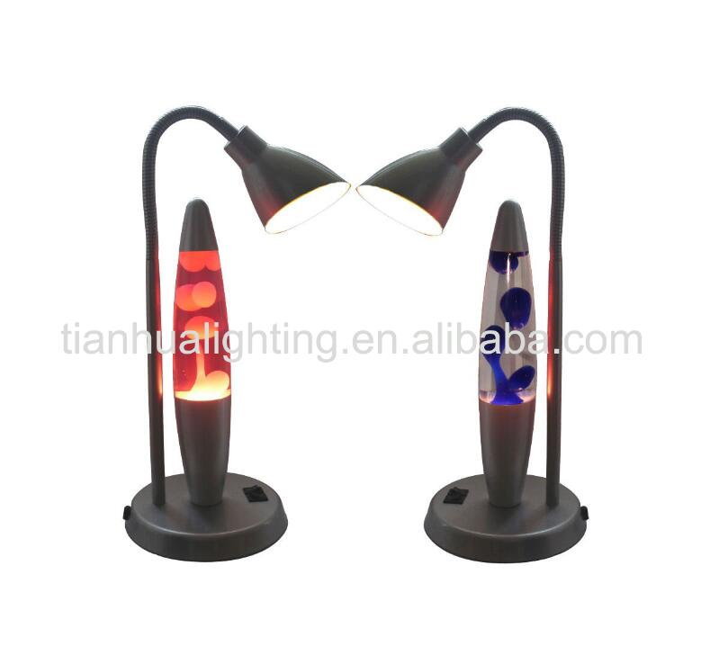 "23"" table lamp with motion lamp"