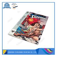 Customized design full color comic book printing