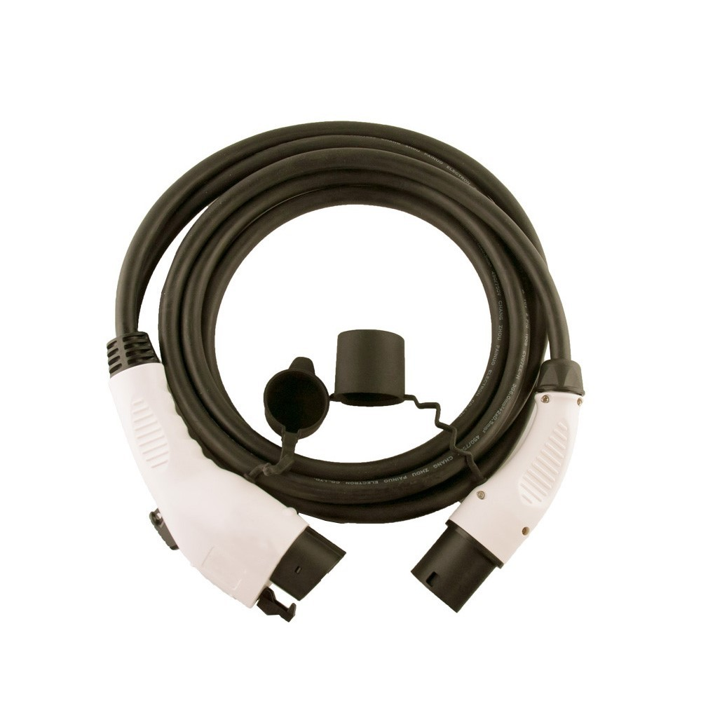 Renault Kangoo EV Portable Charging Cable 5 metre,in line charger UK 3 pin Plug