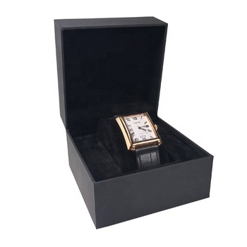 High Quality Luxury Gift Custom Black Display Watch Packaging Paper Box