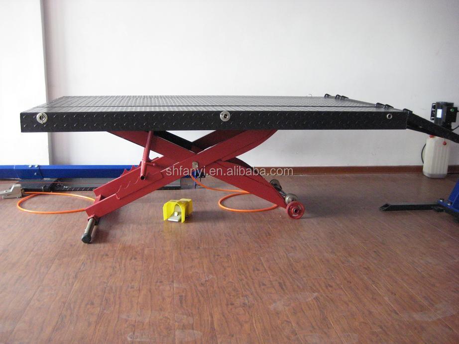 Moto ciseaux table l vatrice vtt r paration atv moto ce for Table elevatrice moto