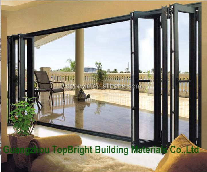 Folding Patio Exterior Glass Doors Hardware/bi Folding Glass Doors ...