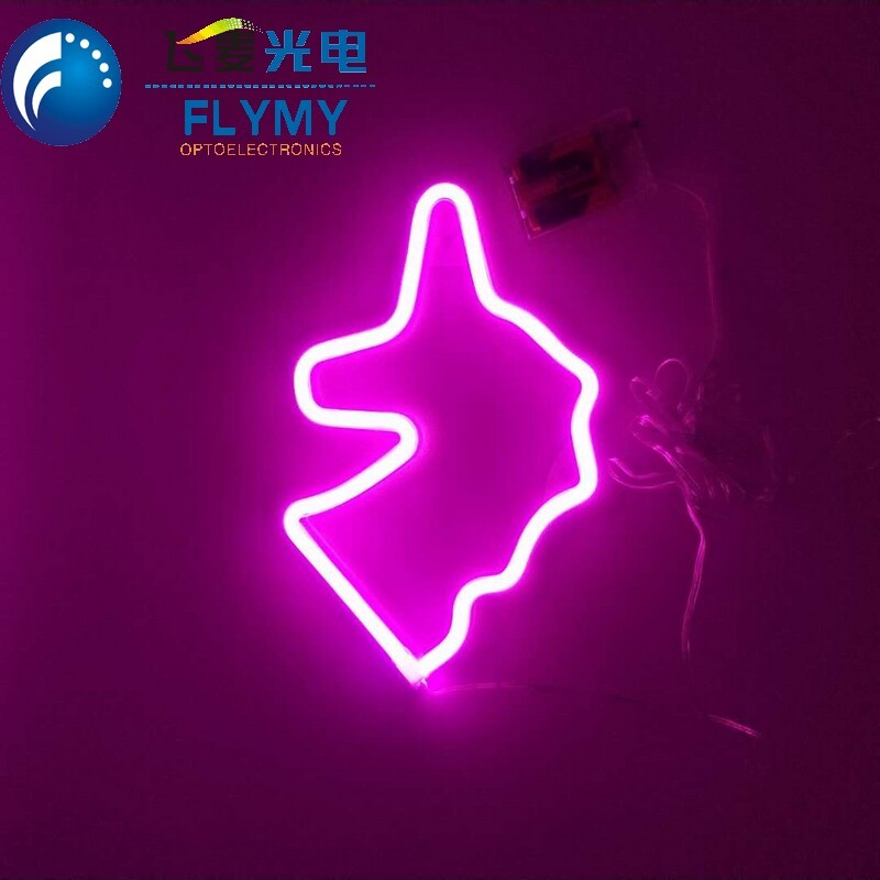 Decorative Unicorn Neon Signs Unicorn LED Night Light for Room Bedroom Home Kids Family Birthday Holiday Party