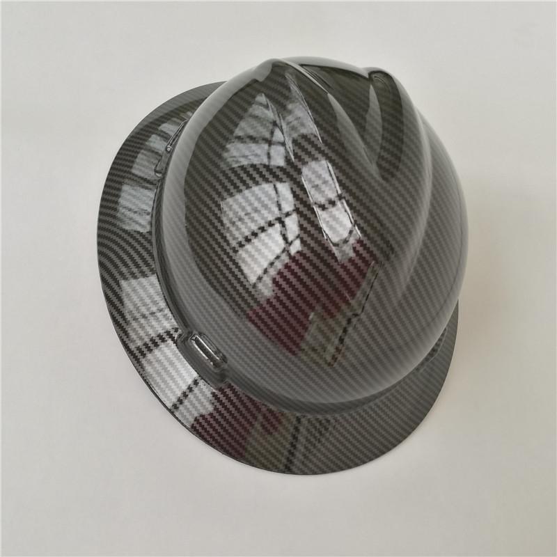 Customized Carbon Fiber Hard Hat Customized Carbon Fiber Hard Hat
