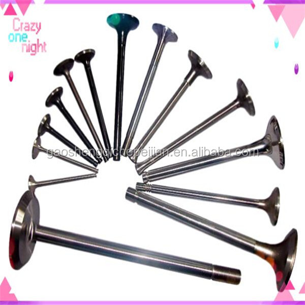 material 21-4N / 4Cr9Si2 / 40Cr engine valve for Japanese CA20