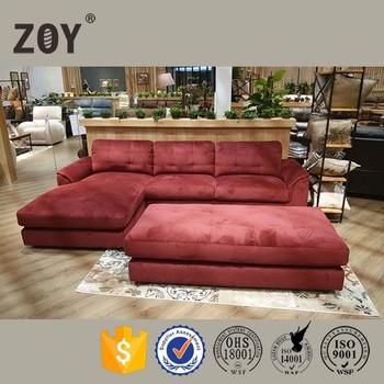 Arab Style Velvet Fabric Lazy Boy Chaise Lounge Sofa Stationary