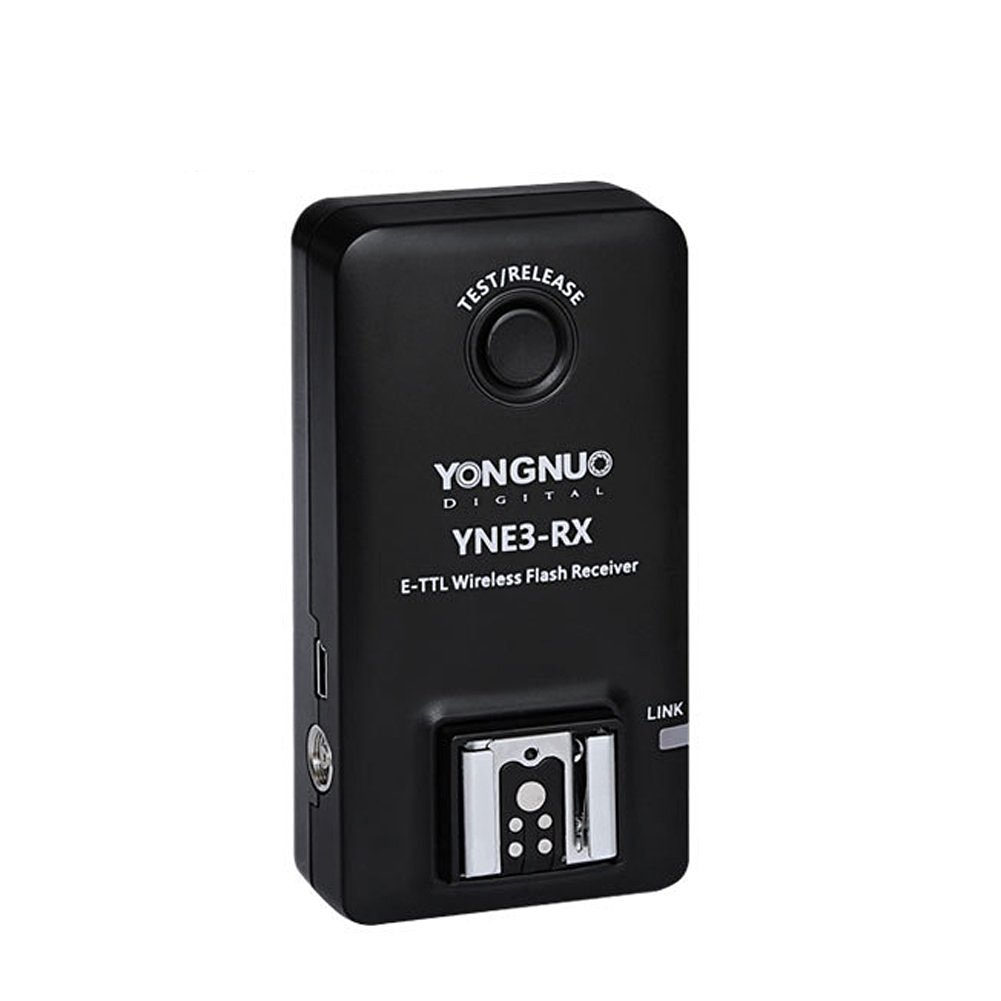 YFY YONGNUO E-TTL YNE3-RX Professional Wireless Remote Flash Receiver for YN-E3-RT/ YN600EX-RT/ ST-E3- RT/ 600EX-RT