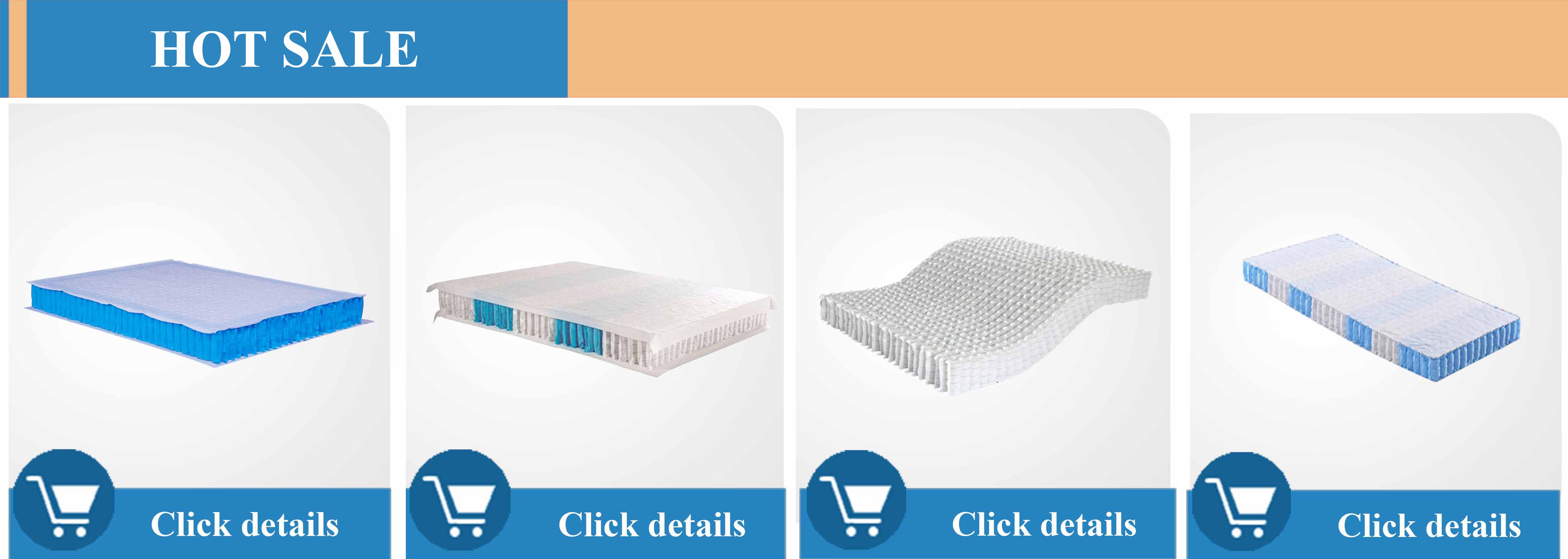 Yüksek kaliteli mikro mini cep yay ünitesi yatak