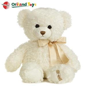 19c4526688f custom fluffy cute soft stuffed plush teddy bear pure white toy