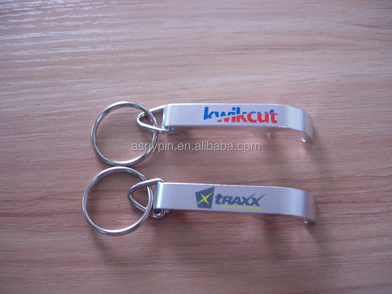 Wholesale custom logo beer opener printing company logo bottle opener