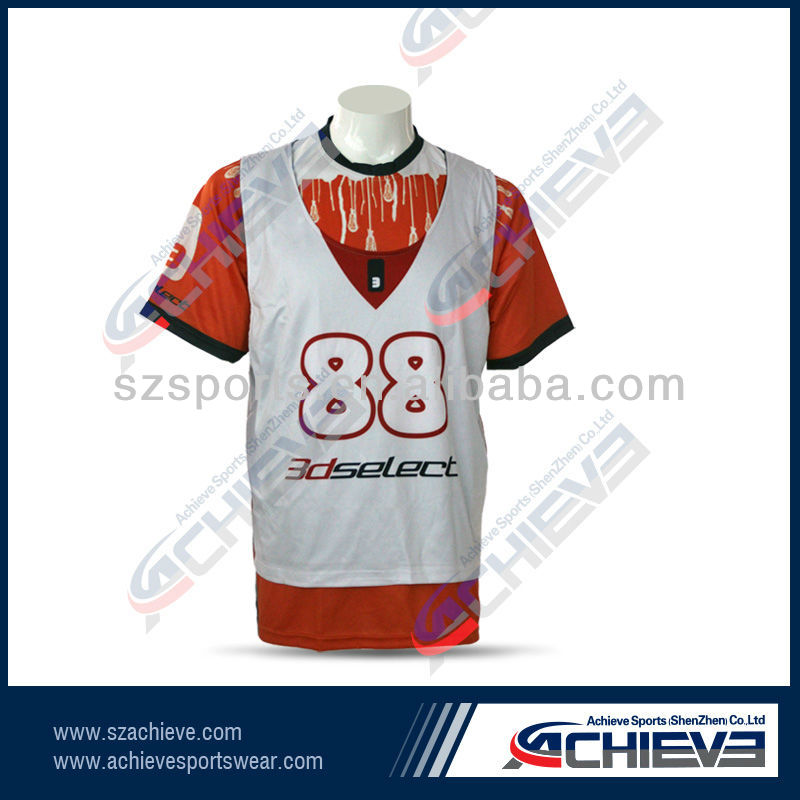 Custom College Lacrosse Jerseys Lax Reversibles