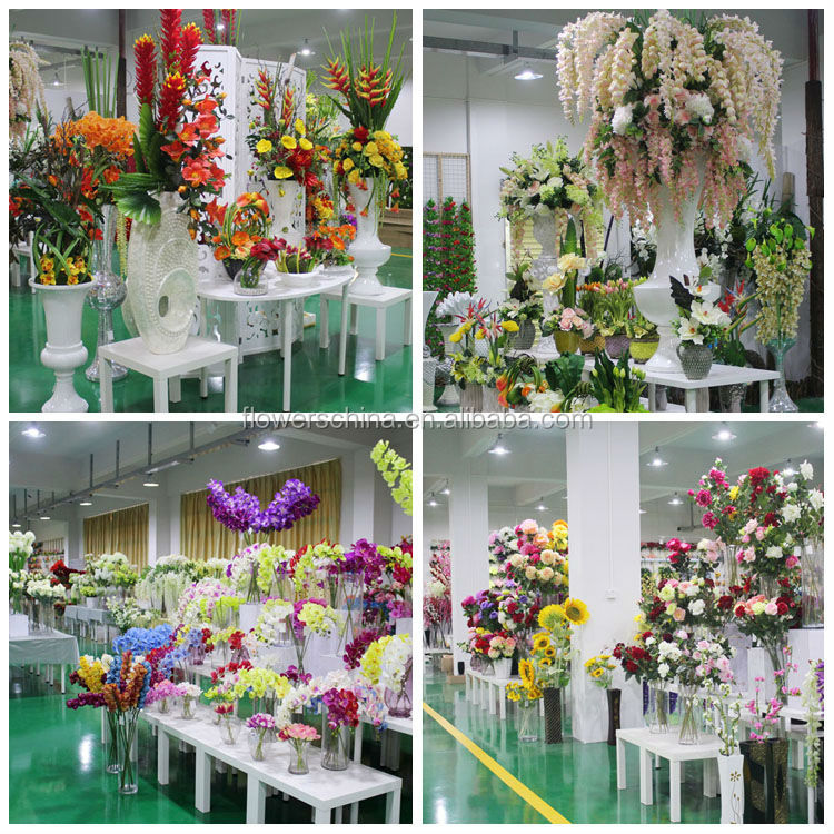 chinese funeral artificial plastic flowers for wholesale
