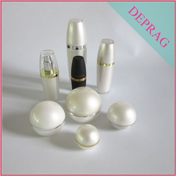 120ml Ball Shape Cosmetic Acrylic Lotion Pump Bottle,5ml Ball ...