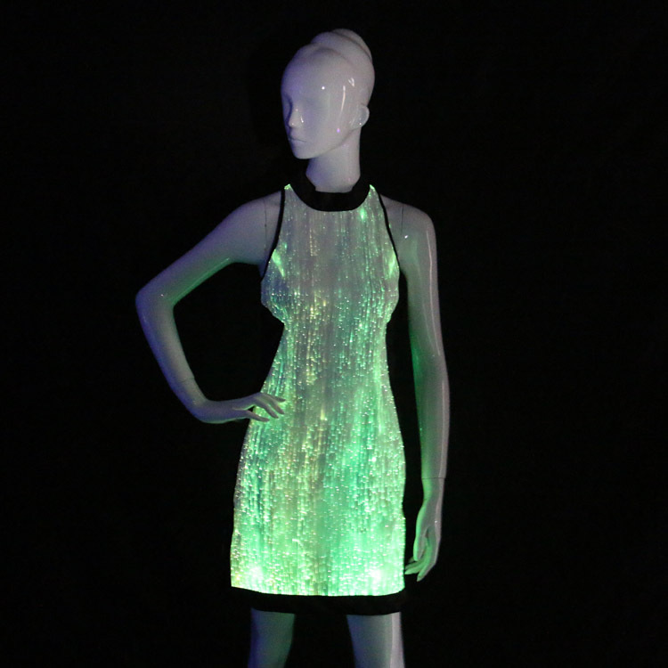 2015 Hot Luminous Clothing Led Light Plus Size Hawaiian Dresses For ...