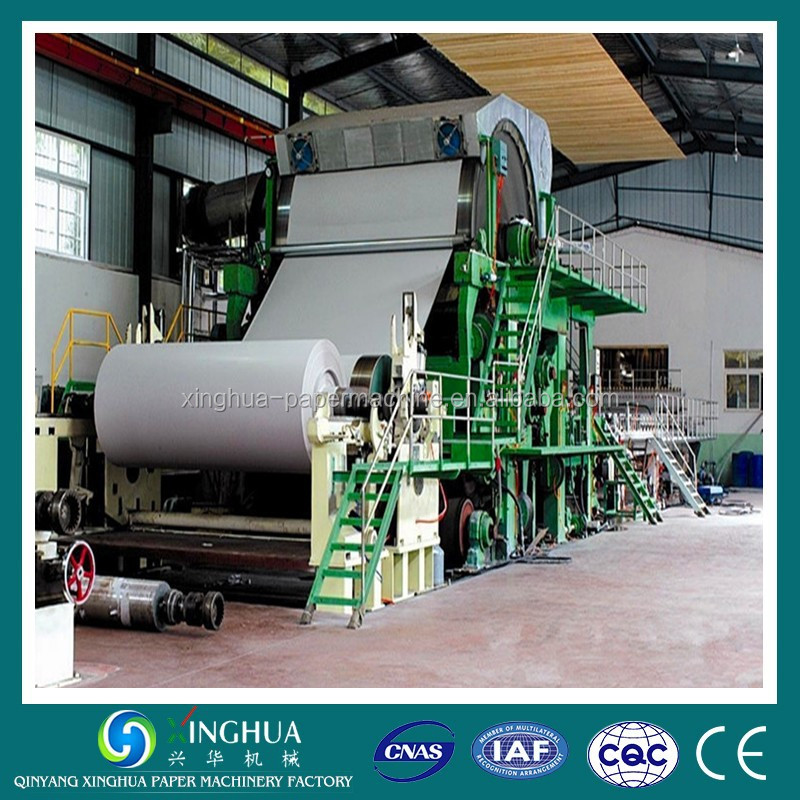 787mm Type 0.8-1TPD Small Office A4 Paper Machine