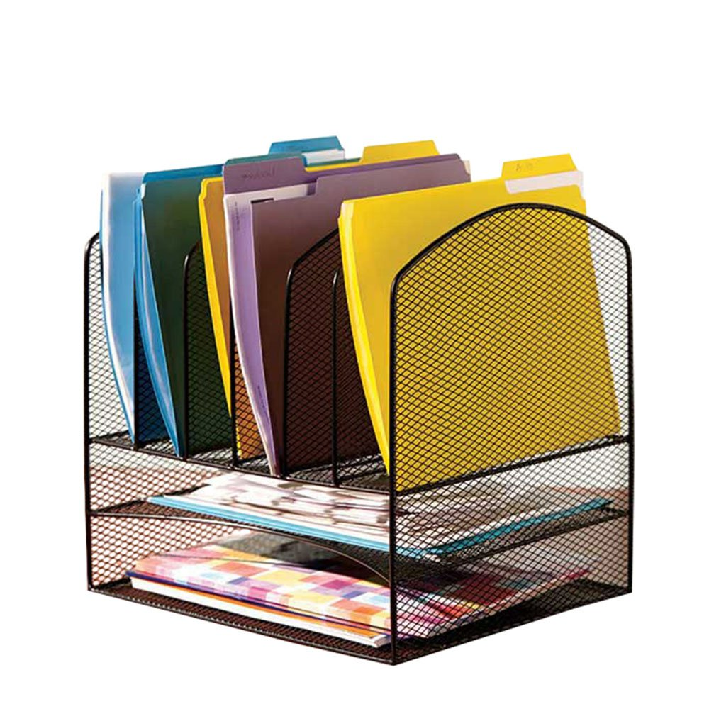 Buy VANRA Metal Mesh Desktop File Organizer File Sorter Desk File