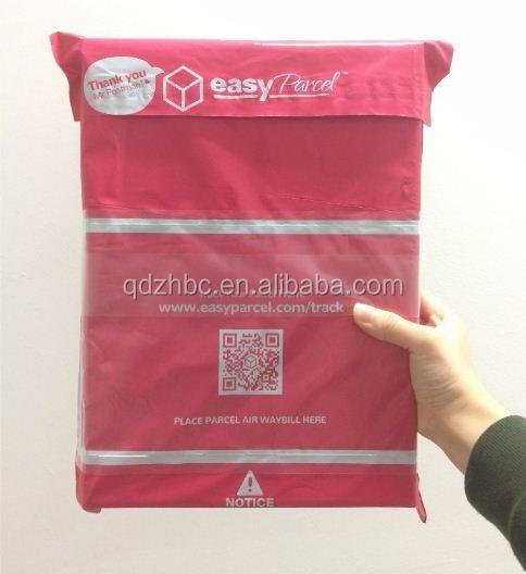 c3b30c6891dd Courier Flyers Plastic Bags With Clear Pocket - Buy Courier Plastic ...