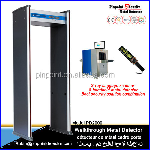 Checkpoint Walkthru metal detector /Secucheck metal detector gate PD2000