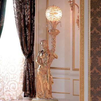 High End Handmade 24k Gold Floor Lamps For Luxury Furniture Kb E