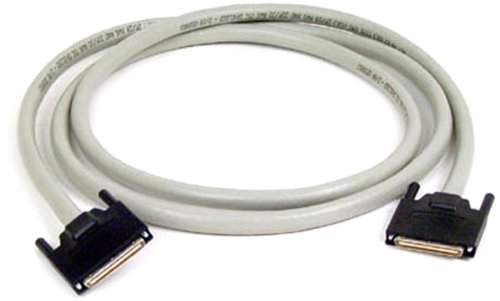 p//n C7070-1.5PBL-OS: VHDCI-VHDCI 1.5 FT Electronics Offset Connector Madison LVD Data Storage Cables