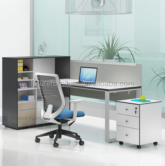 2017 Malaysia Market Melamine Partition Workstation for 1 Person Use