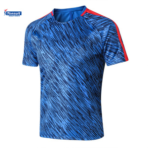Sublimation football jersey thai quality soccer wear club jersey wholesale