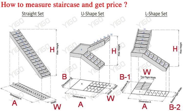 Good Prefabricated Stairs Outdoor/outdoor Wooden Stairway