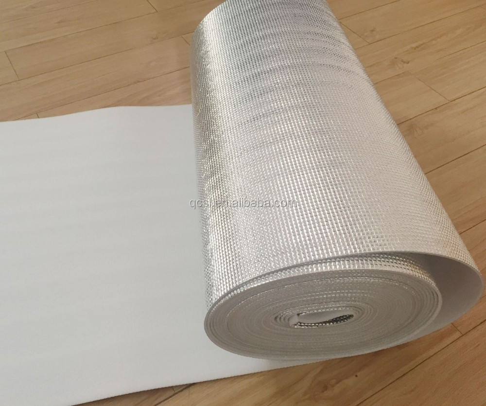 Flexible Thermal Insulation Sheets Ceiling Aluminum Foil