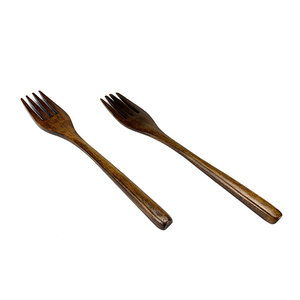 Hot Sale Customize Logo Wooden Restaurant Cutlery Wooden Fork