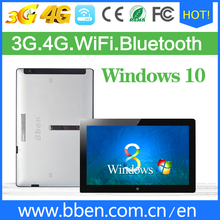 China tablet manufacturer 11.6 inch windows tablet pc with metal case 3G call 4G net