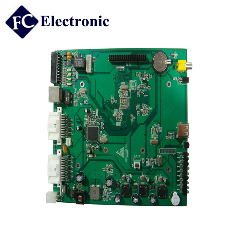 PCB & PCBA Assembly Service For Security Alarm Systems, car dvr pcb
