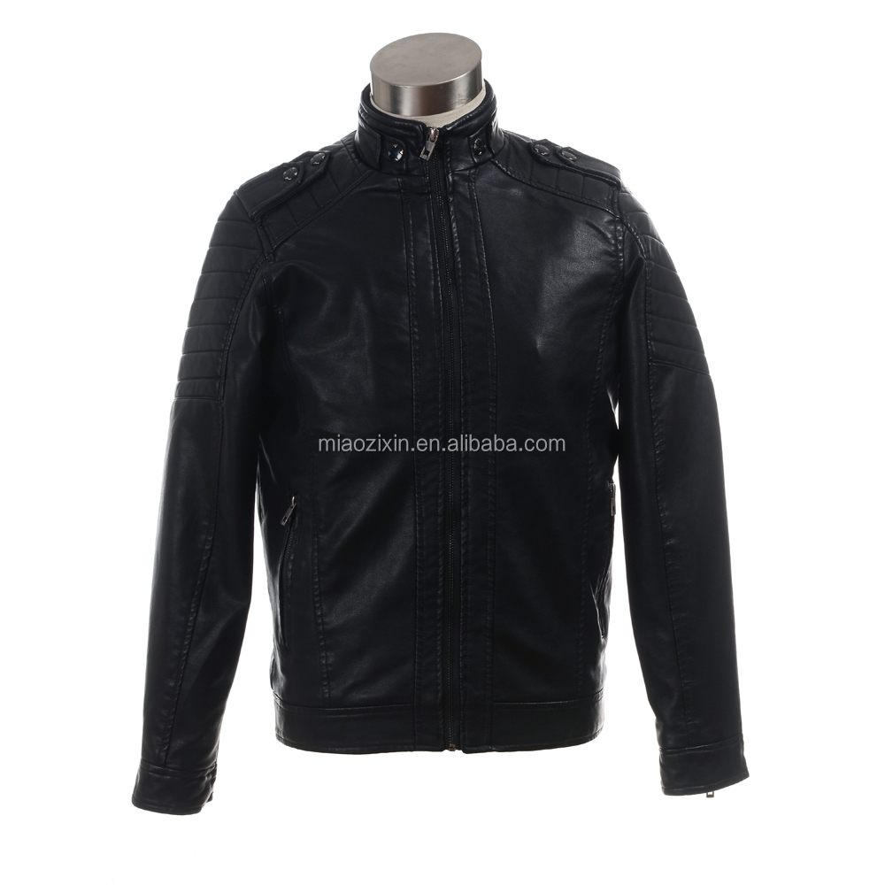 Hight Quality Mens PU Leather Jackets with good price