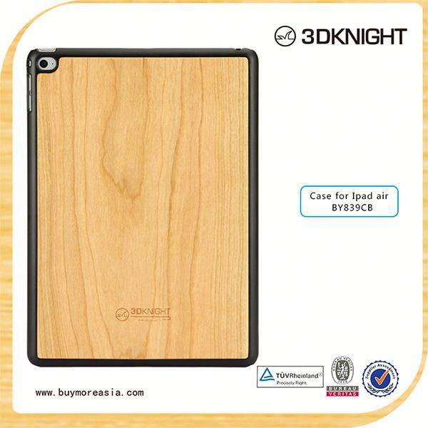 hot new products 2015 high quality wood back cover for ipad air 2