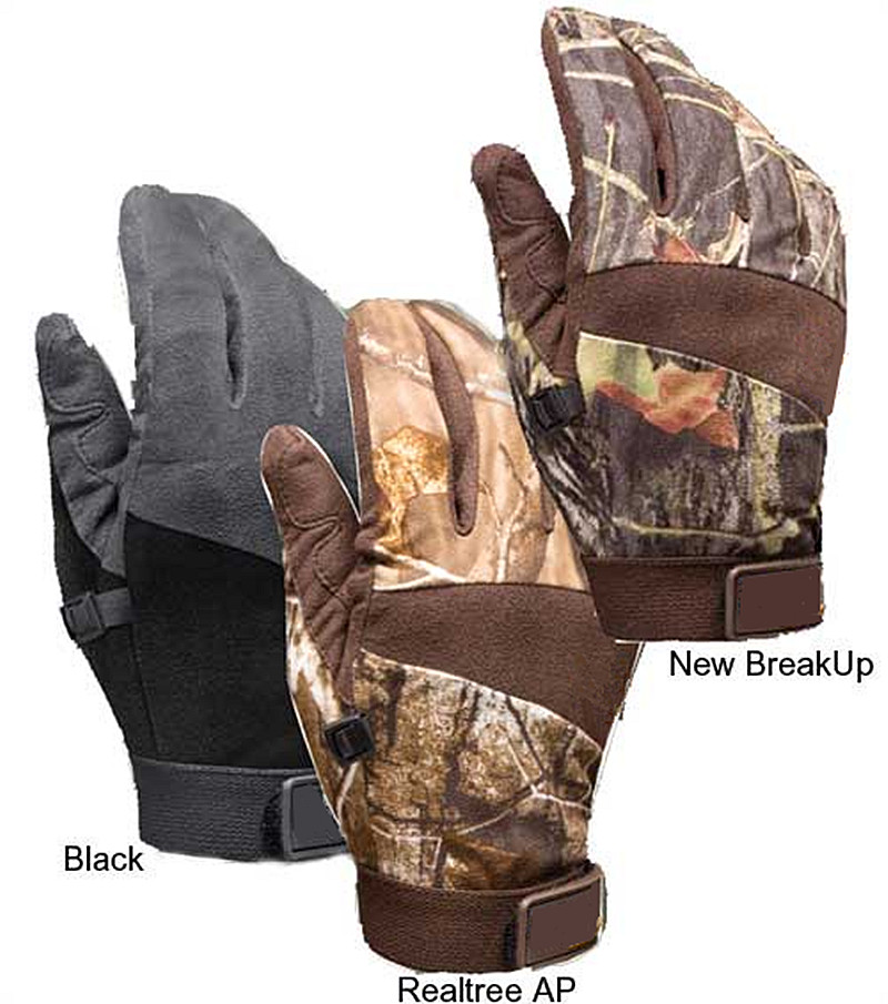 Waterproof camo hunting supplies gloves