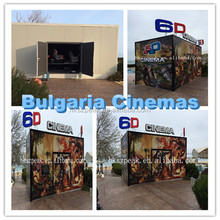 Attractive Portable 6d Mobile Cinema With LED Lightning For Sale