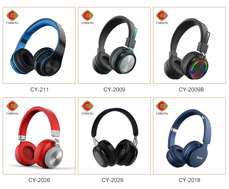 2020 Baru Foldable Bluetooths Menghubungkan Headphone Headset dengan MIC Deep Bass Wireless Mengalahkan Earphone Headphone