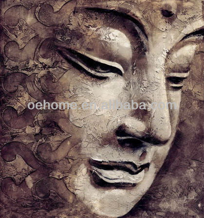 Modern Art Buddha Abstract Painting