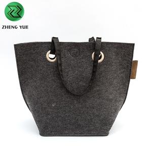 9138df10ad64 Hot Sale 2018 New Fashion Felt handbags Women Tote Bag For Shopping