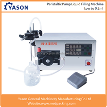Table Top Peristaltic Pump Small Bottle Eliquid Filling Machine 0.2ml-150ml
