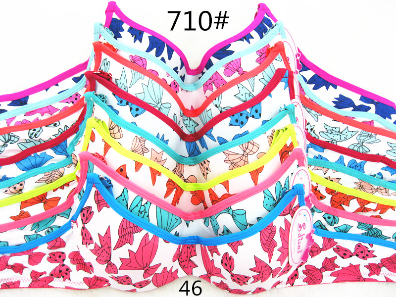 e2d37e3a923 Grils  Bra A 32 -38 Mixed Size Mixed Colors Lovely Cute Design Full ...