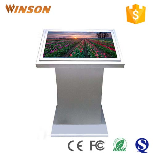 60'' lcd interactive multi touch screen kiosk with Samsung screen