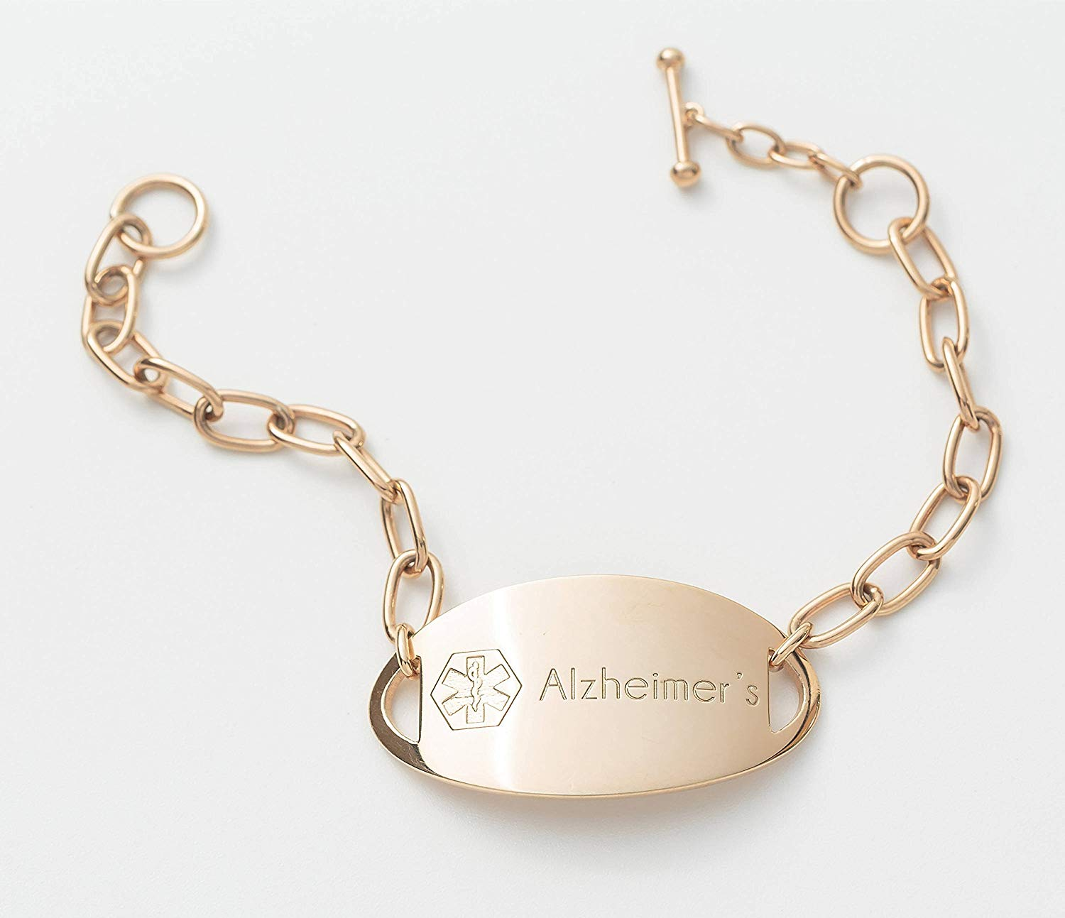 Get Quotations Code Blue Jewelry Personalized Medical Id Bracelet Alert Custom