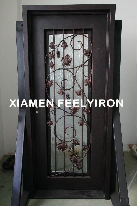 Puerta hierro dise os portales identificaci n del producto for Puertas de metal con vidrio modernas